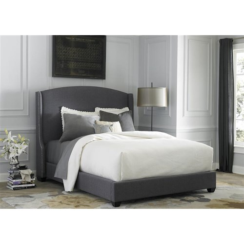 Liberty Furniture Upholstered Beds Queen Upholstered Shelter Bed
