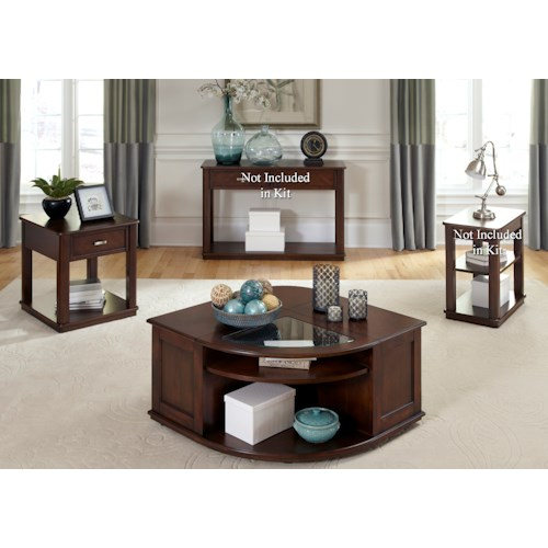 Liberty Furniture Wallace Casual 3 Piece Occasional Table Set