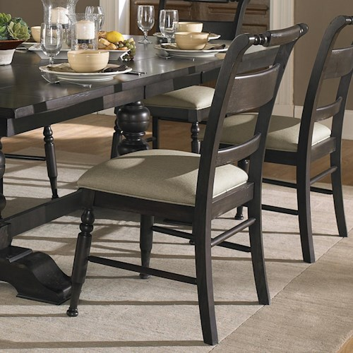 Vendor 5349 Whitney Slat Back Dining Side Chair