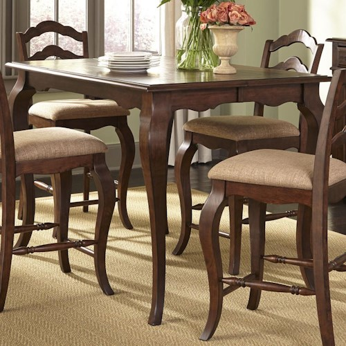 Vendor 5349 Woodland Creek  Transitional Gathering Height Table
