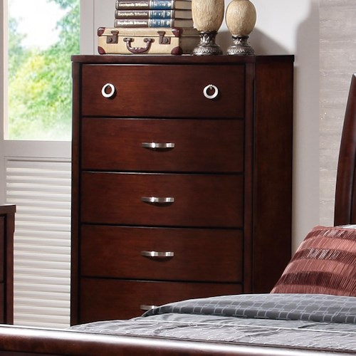 Lifestyle 1173 Chest w/ 5 Drawers