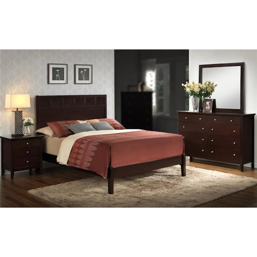 Lifestyle Harper 4-Piece King Bedroom Set
