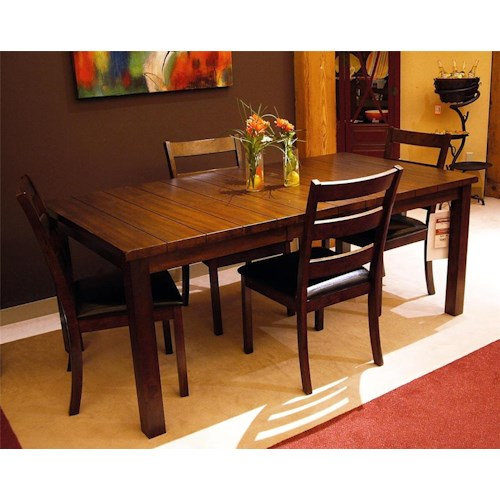 Lifestyle Talia Dining Table with Block Legs