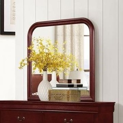 Lifestyle 4937 Mirror with Wood Frame