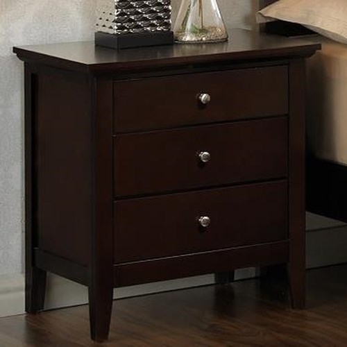 Lifestyle Harper Nightstand w/ 3 Drawers