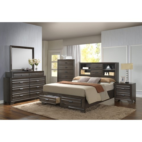 Lifestyle 5236A Queen Bedroom Group
