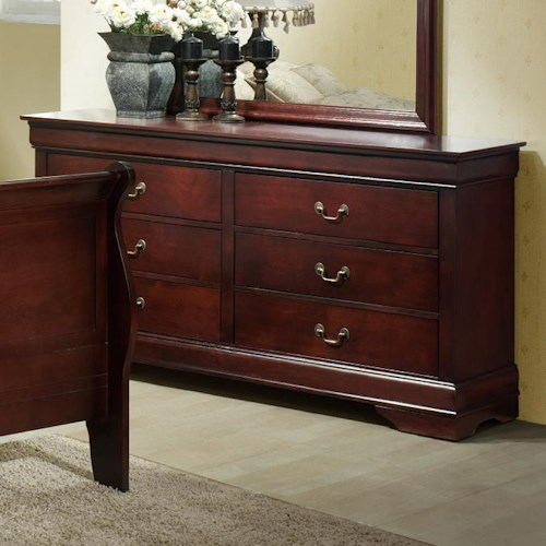 Lifestyle 5933A Drawer Dresser