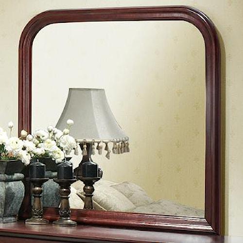 Lifestyle Louis Phillipe Landscape Dresser Mirror