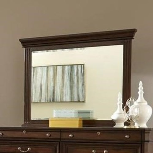 Lifestyle 6168A Mirror with Wood Frame