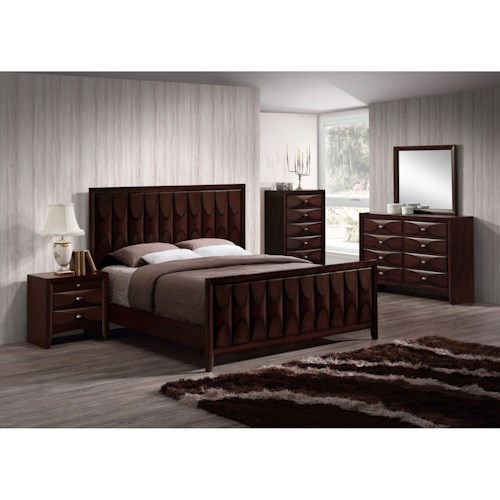 Lifestyle Banfield 5PC King Bedroom Set