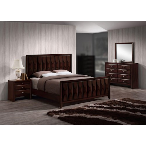 Lifestyle Banfield 4PC King Bedroom Set