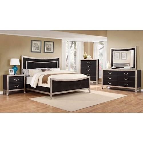Lifestyle Natalia 5PC  Queen Bedroom Set