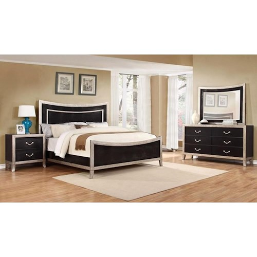 Lifestyle Natalia 4PC King Bedroom Set