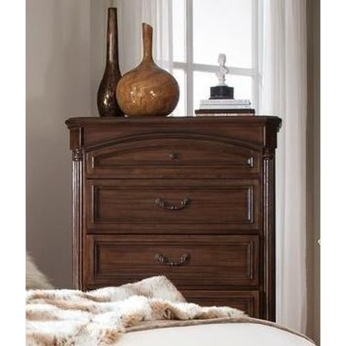 Lifestyle Empire 5 Drawer Chest with Full Extension Glides