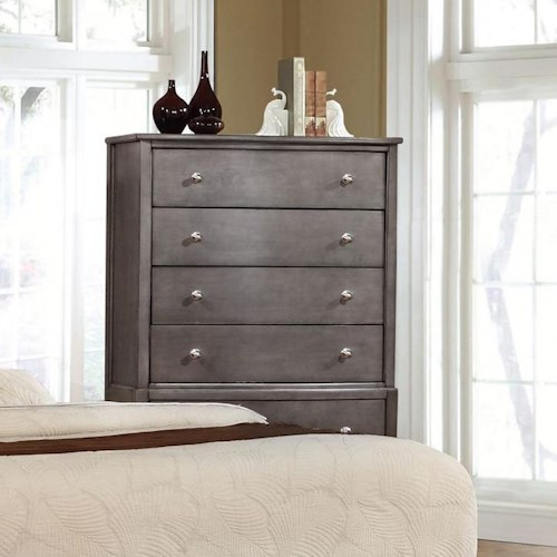 Lifestyle 7185 Chest with 5 Drawers