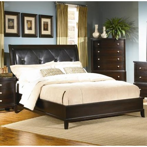 Lifestyle 7185A Queen Uphosltered Panel Bed