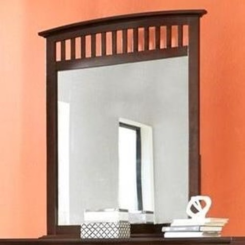 Lifestyle Bryce Dressor Mirror in Whiskey Finish