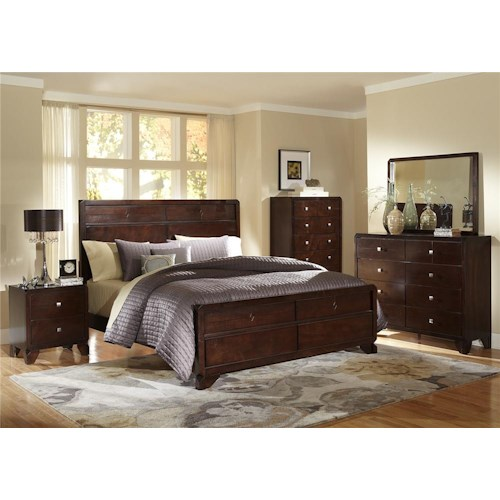 Lifestyle 2180A King Bedroom Group