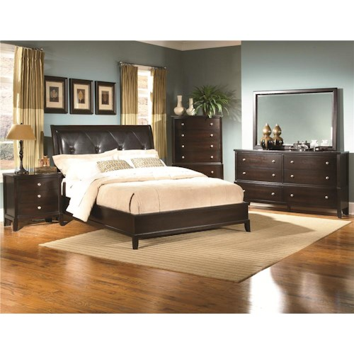 Lifestyle 7185A Queen Bedroom Group