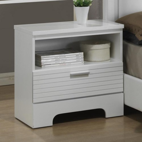 Lifestyle Sami Contemporary Open Nightstand