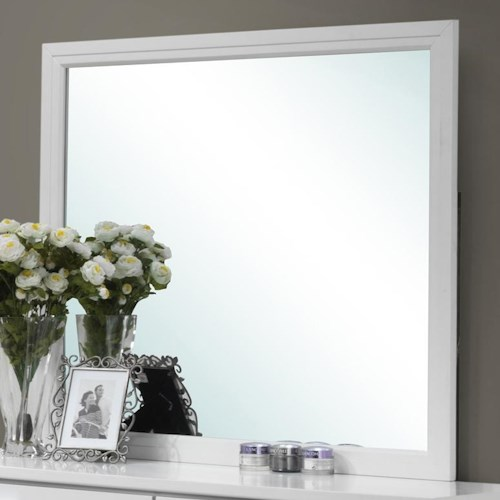 Lifestyle Sami Contemporary Framed Dresser Mirror