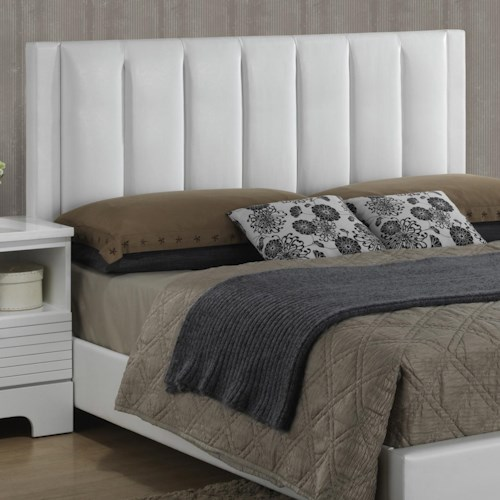 Lifestyle Sami Contemporary Upholstered King Headboard