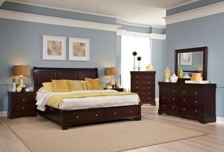 memorial day deal compton king bedroom set