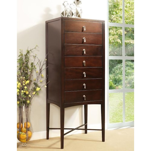 Ligna Furniture Port 7 Drawer Lingerie Chest