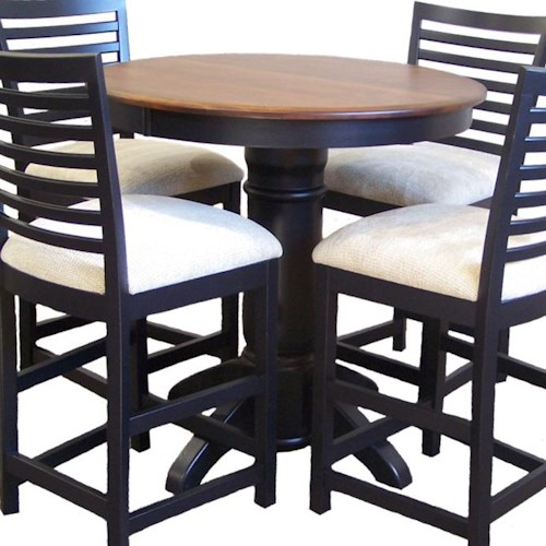 American Amish Bistro  Bistro Table