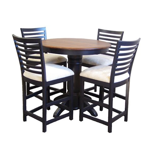 American Amish Bistro  Bistro Table & Stool Set