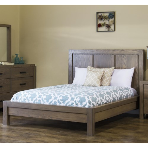 American Amish Canyon Lake King Low Profile Bed