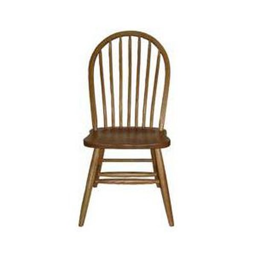American Amish Solid Wood Dining Sets Bow Spindle Dining Side Chair