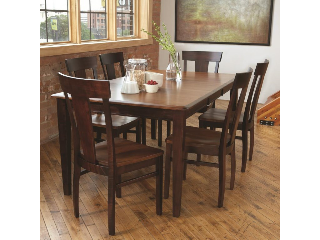Furniture Kitchen Sets Lj Gascho Furniture Solid Wood Dining Sets Anniversary Solid