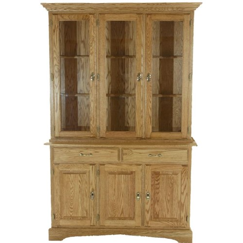 American Amish Heritage  China Cabinet
