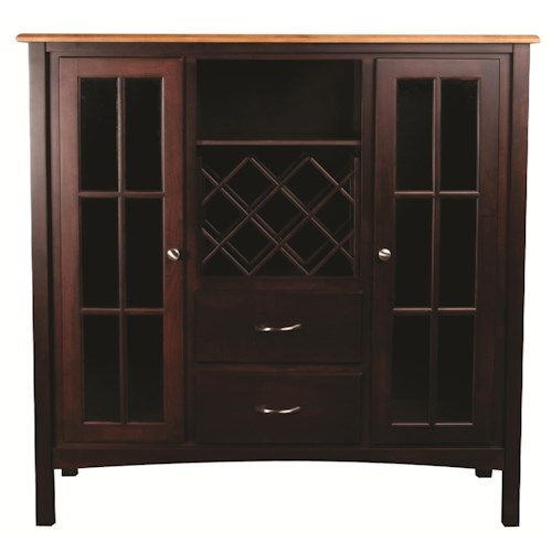 L.J. Gascho Furniture Larkin Server