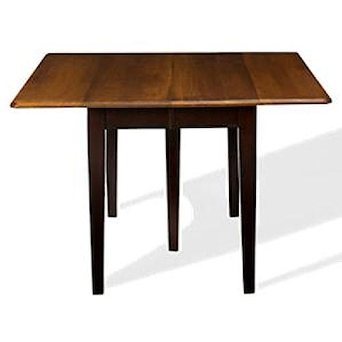 L.J. Gascho Furniture Saber Solid Maple Drop Leaf Table