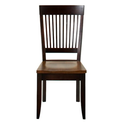 American Amish Saber Dining Side Chair