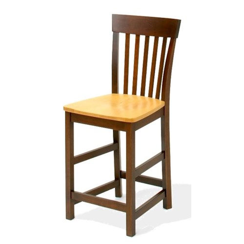 American Amish Venice  24 Inch Bar Stool