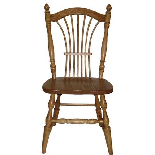 American Amish Wheatland Dining Side Chair
