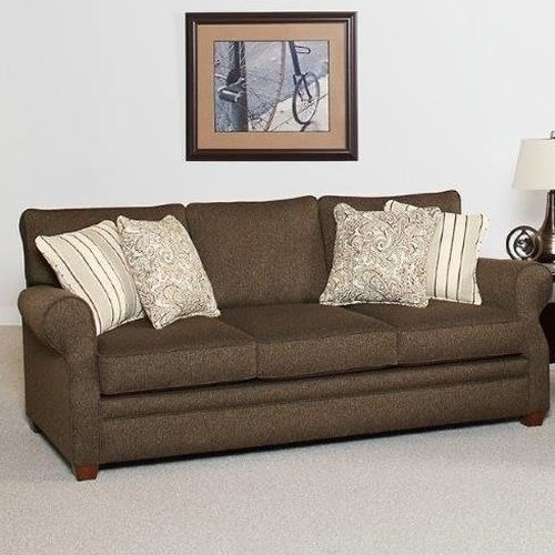 Lloyd's of Chatham 655 Sofa with Rolled Sock Arms