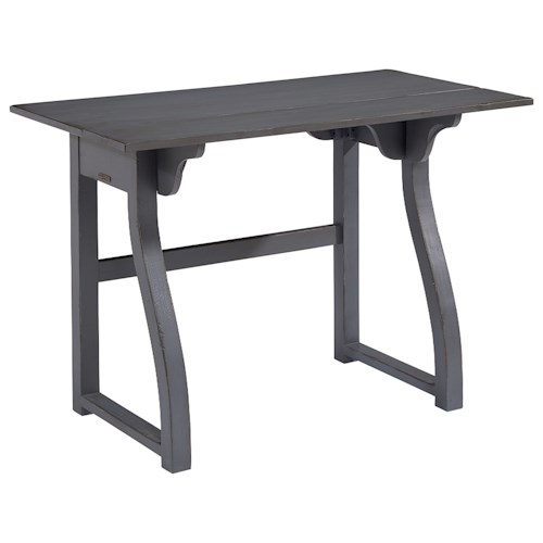 Magnolia Home by Joanna Gaines Accent Elements Small Writing Desk with Curvy Legs