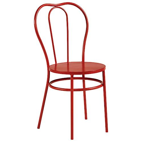 Magnolia Home by Joanna Gaines Boho Curvy Metal Bistro Chair