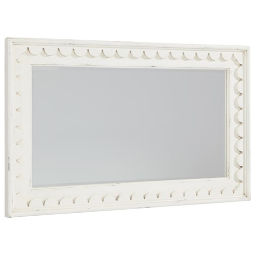 Magnolia Home by Joanna Gaines Farmhouse Scalloped Mirror