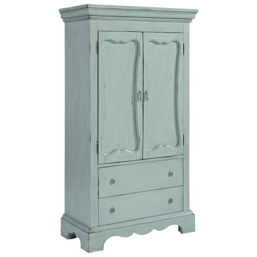 Magnolia Home by Joanna Gaines French Inspired Cameo Armoire