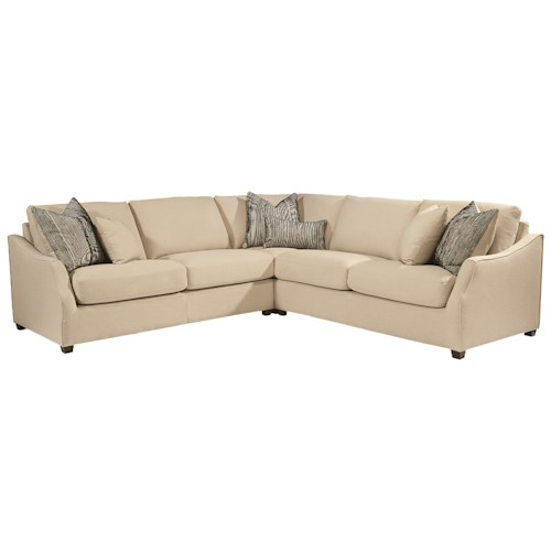 Magnolia Home by Joanna Gaines Homestead Three Piece Sectional