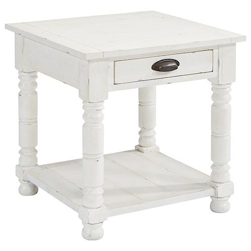 Magnolia Home by Joanna Gaines Primitive Bobbin Side Table