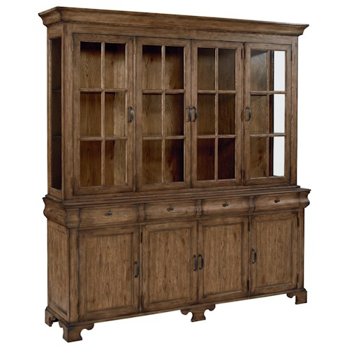 Magnolia Home by Joanna Gaines Traditional Traditional Buffet with Framed Doors
