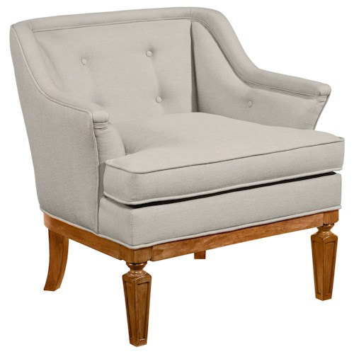 Magnolia Home by Joanna Gaines Accent Chairs Cotillion Upholstered Tub Shaped Chair