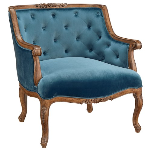 Magnolia Home by Joanna Gaines Accent Chairs Bloom Upholstered Accent Chair