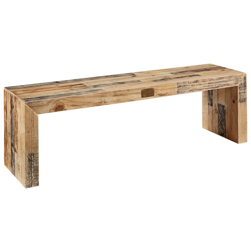 Magnolia Home by Joanna Gaines Boho Canton Bench